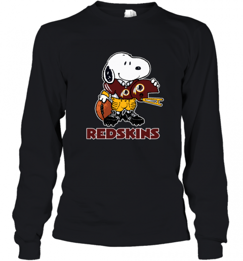 Snoopy A Strong And Proud Washington Redskins NFL Youth Long Sleeve