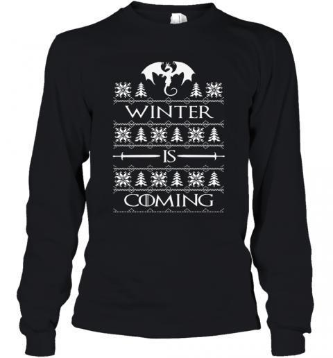 WINTER IS COMING GOT Youth Long Sleeve