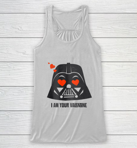 Star Wars Darth Vader I Am Your Valentine Racerback Tank