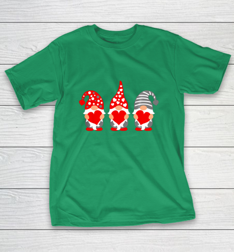 Gnomes Hearts Valentine Day Shirts For Couple T-Shirt 5