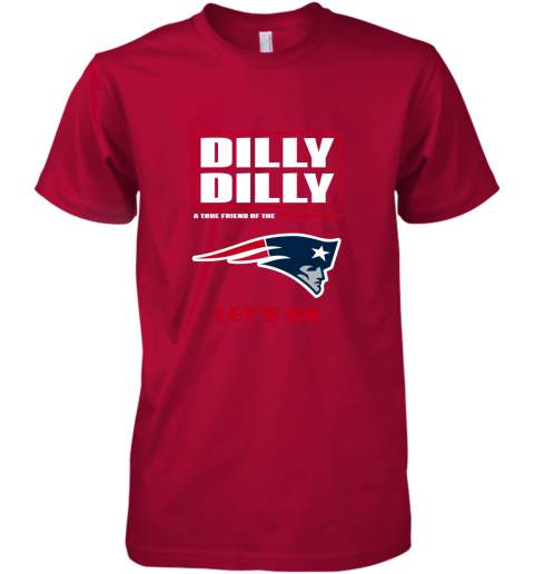 zft3 a true friend of the new england patriots premium guys tee 5 front red