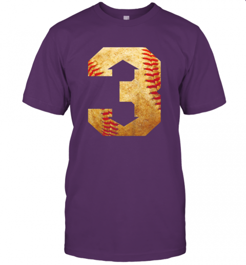 yt8u three up three down baseball 3 up 3 down jersey t shirt 60 front team purple
