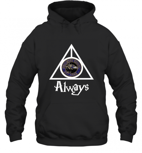 Always Love The Baltimore Ravens x Harry Potter Mashup NFL Hoodie