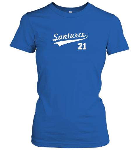 t4zt vintage santurce 21 puerto rico baseball ladies t shirt 20 front royal