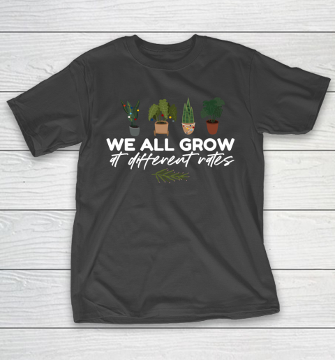 We All Grow At Different Rates, Special Education Teacher Autism Awareness T-Shirt