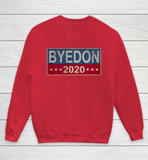 Bye Don 2020 ByeDon Button Joe Biden Funny Anti Trump Youth Sweatshirt 4