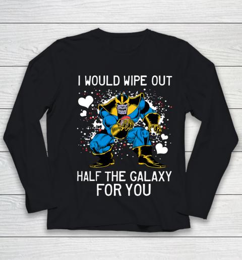 Marvel Thanos Half The Galaxy Valentine Graphic Youth Long Sleeve