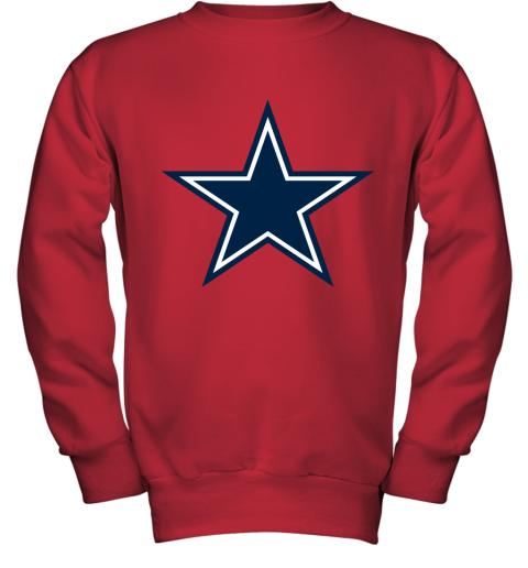 Dallas Cowboys NFL Pro Line by Fanatics Branded Gray Victory Youth Sweatshirt