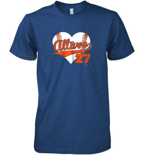 yogf jose altuve baseball heart shirtapparel premium guys tee 5 front royal