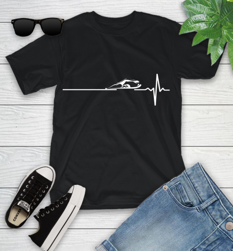 Swimming This Is How My Heart Beats Youth T-Shirt