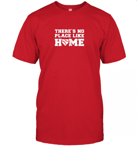 yrmz there39 s no place like home baseball shirt kids baseball tee jersey t shirt 60 front red