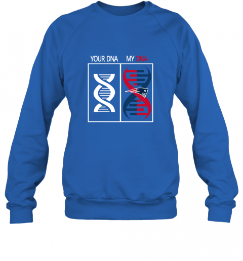lqxr my dna is the new england patriots football nfl sweatshirt 35 front royal