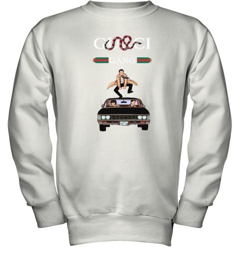 Gucci Gang Stripe Stay Stylish Supernatural Youth Sweatshirt