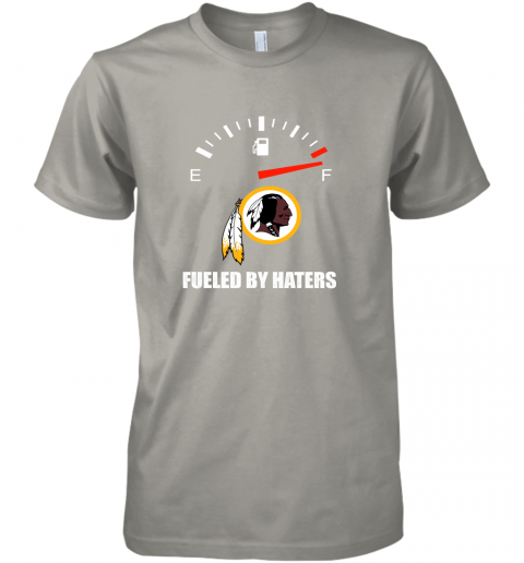 i7fh fueled by haters maximum fuel washington redskins premium guys tee 5 front light grey