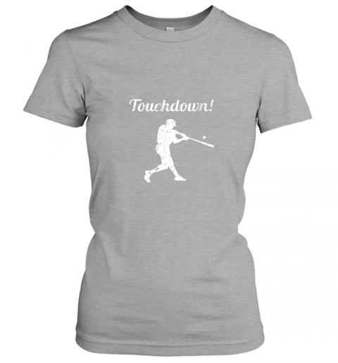 mp1f touchdown funny baseball ladies t shirt 20 front ash