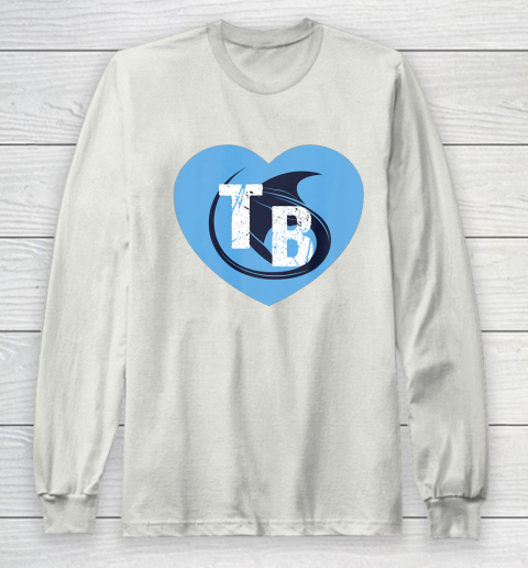 Stingray Love Tampa Bay Vintage TB Cool Tampa Bay Heart Long Sleeve T-Shirt 12