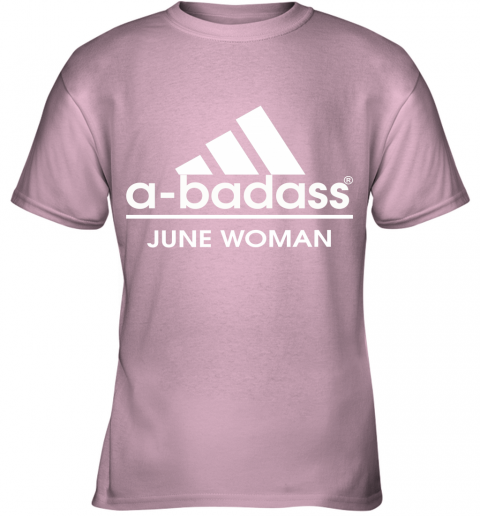 A Badass June Women Are Born In March Youth T-Shirt