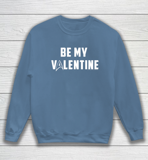 Star Trek Be My Valentine Delta Badge Graphic Sweatshirt 6