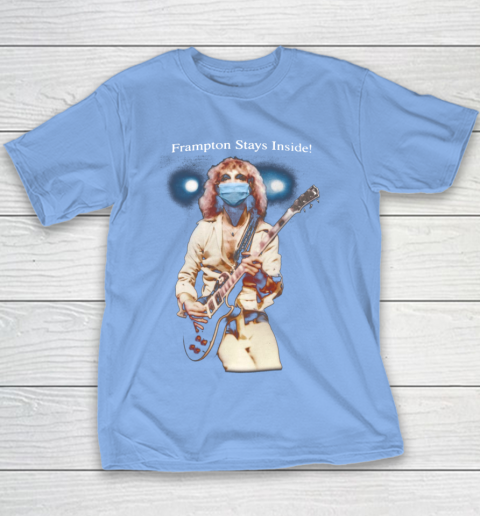 Peter Frampton Covid Stays Inside Youth T-Shirt 8