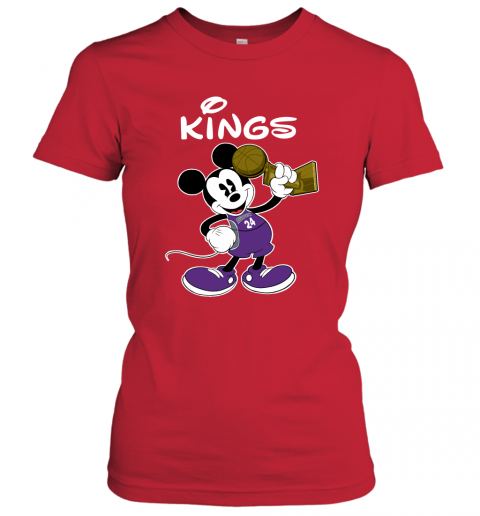 Mickey Sacramento Kings Women's T-Shirt