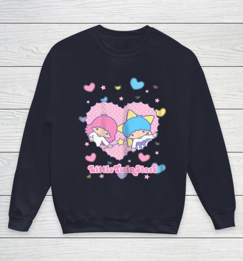 Little Twin Stars Retro Logo Valentine Youth Sweatshirt 2