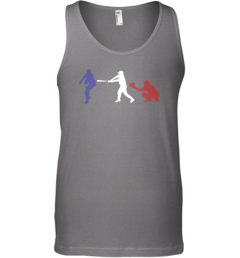 karx baseball usa flag american tradition spirit unisex tank 17 front graphite heather