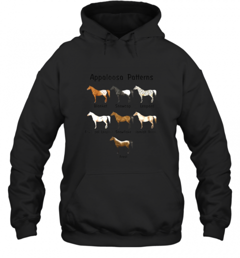 Appaloosa Patterns Gift For Riding Horse Lovers TShirt Hoodie