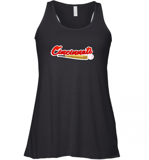 Vintage Cincinnati Baseball Shirt, Reds Ohio Baseball Racerback Tank