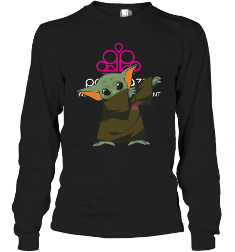 Baby Yoda Dabbing Paparazzi Independent Consultant Long Sleeve T-Shirt