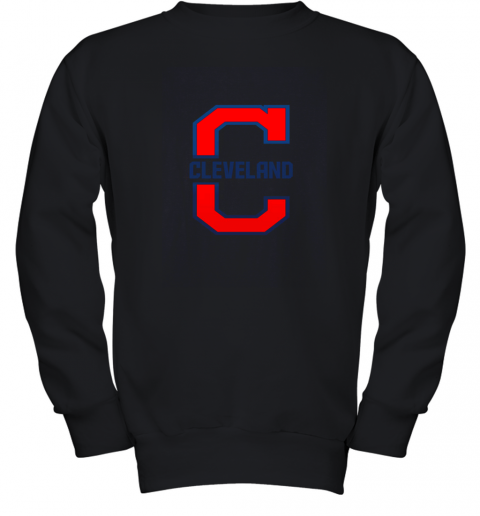 Cleveland Hometown Indian Tribe Vintage for Baseball Fans Youth Sweatshirt