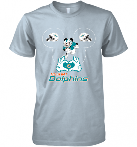 gqrj i love the dolphins mickey mouse miami dolphins premium guys tee 5 front light blue