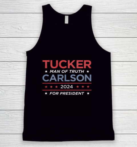 Vote For Tucker Carlson 2024 Presidential Election Campaign Tank Top
