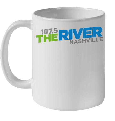 107 5 The River Nashville shirt Ceramic Mug 11oz
