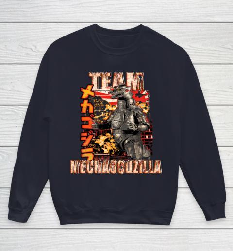 Team Mechagodzilla Japan Vintage Style Youth Sweatshirt 2