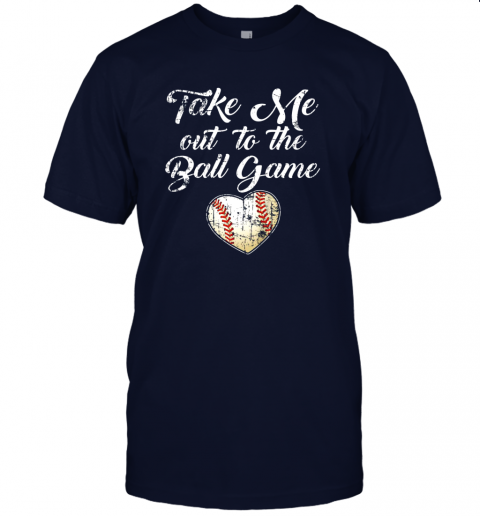 jlux take me out to the ball game shirt baseball mom sister gift jersey t shirt 60 front navy