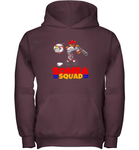 f7h4 bomba squad twins shirt for men women baseball minnesota youth hoodie 43 front maroon