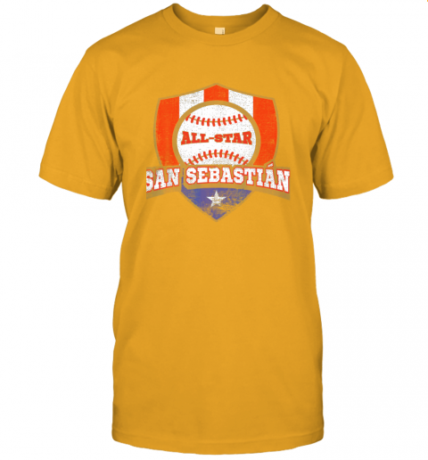 j91v san sebastian puerto rico puerto rican pr baseball jersey t shirt 60 front gold