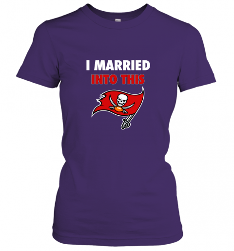 xy52 i married into this tampa bay buccaneers football nfl ladies t shirt 20 front purple