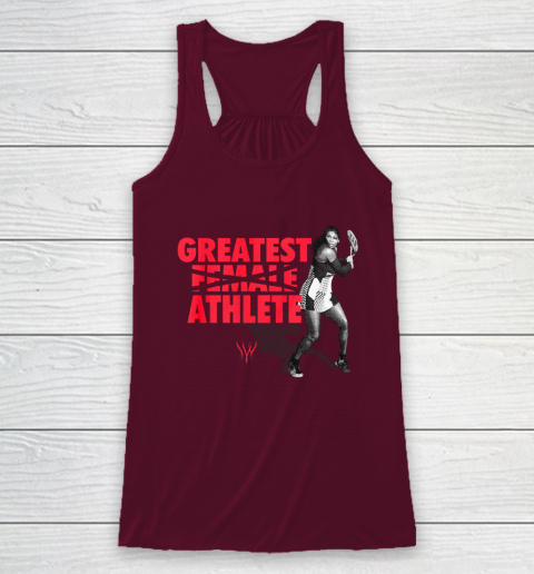 Serena Greatest Athlete Racerback Tank 2