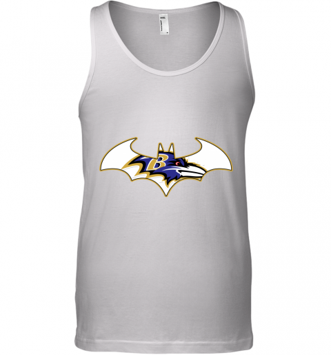 We Are The Baltimore Ravens Batman NFL Mashup Tank Top