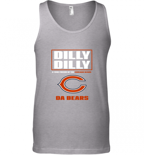 sbyq dilly dilly a true friend of the chicago bears unisex tank 17 front sport grey