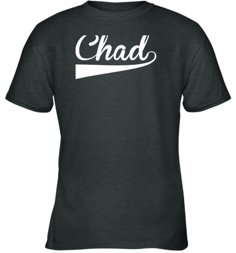 fyvn chad country name baseball softball styled youth t shirt 26 front dark heather