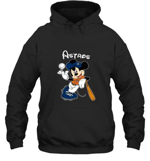 Baseball Mickey Team Houston Astros Hoodie