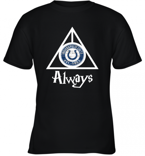 Always Love The Indianapolis Colts x Harry Potter Mashup NFL Youth T-Shirt