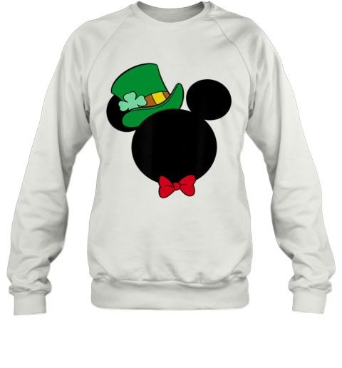 Disney Mickey Mouse Icon St. Patrick'S Day Irish Sweatshirt