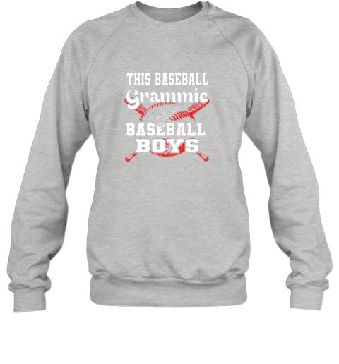 91nx this baseball grammie loves her baseball boys sweatshirt 35 front sport grey