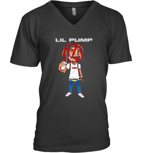 Lil Pump Esketit V-Neck T-Shirt