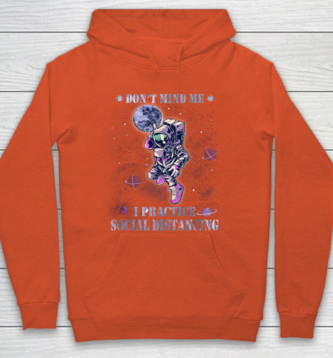 BASKETBALL Dont Mind Me I Practice Social Distancing Hoodie 3