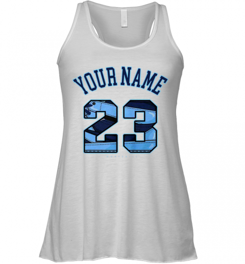 Your Name Number 23 Racerback Tank