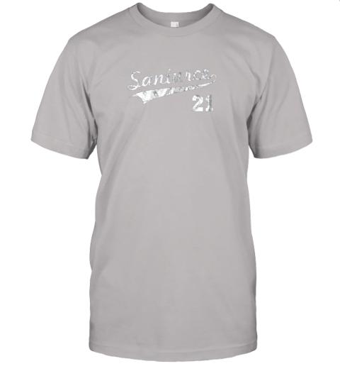 shyt vintage distressed santurce 21 puerto rico baseball jersey t shirt 60 front ash